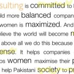Women @ Work in Pakistan : A Long Way To Go!
